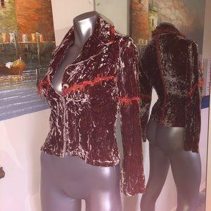 Ohm 🌺 EUC crushed velvet